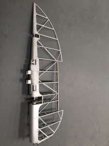 RB396 Tempest Rudder